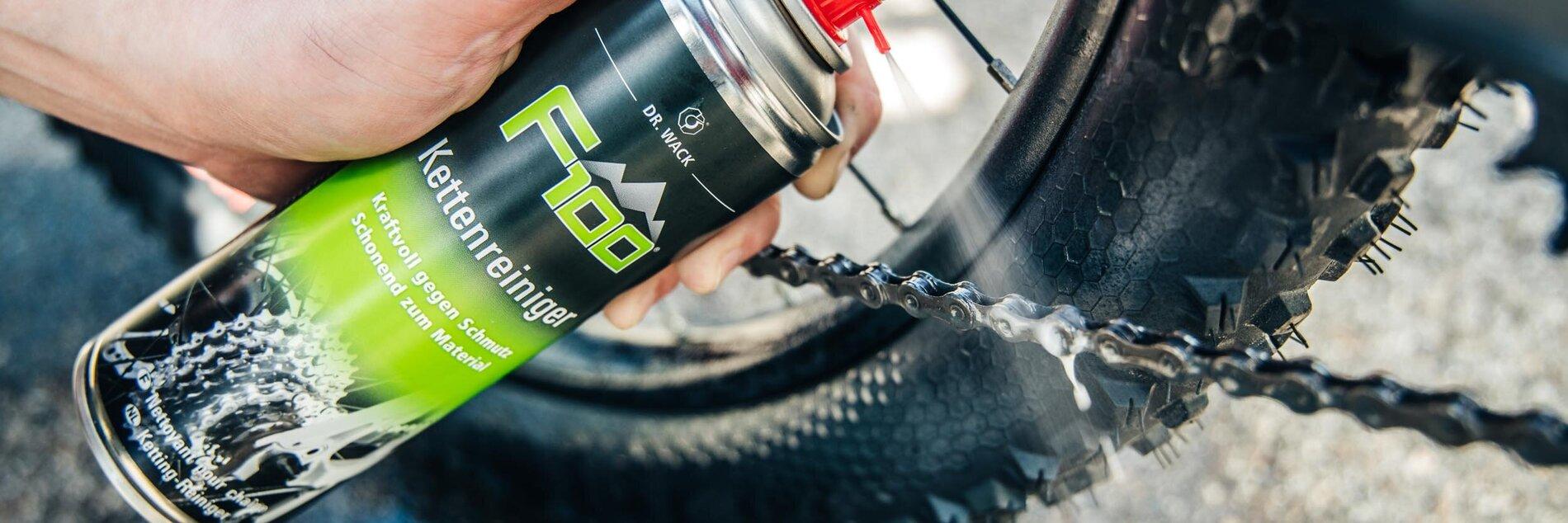 Reinigung WOVELOT Kettenreiniger Fahrradpflege